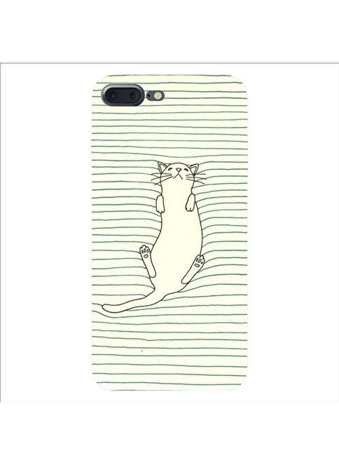 People's Cover iPhone 7 Plus Kabartmalı Telefon Kılıfı Renkli